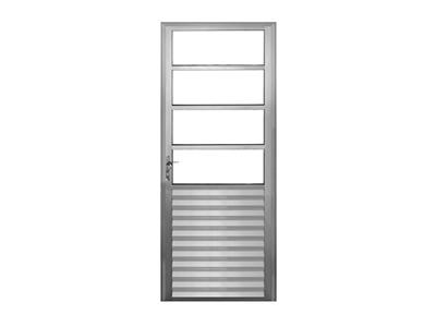 Porta Travessa (com vidros)